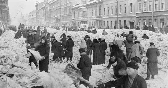 Leningrad - válka