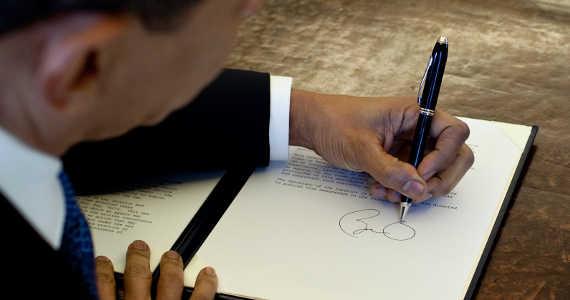 Barack Obama - levák