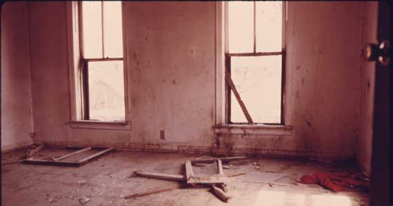 prázdný dům