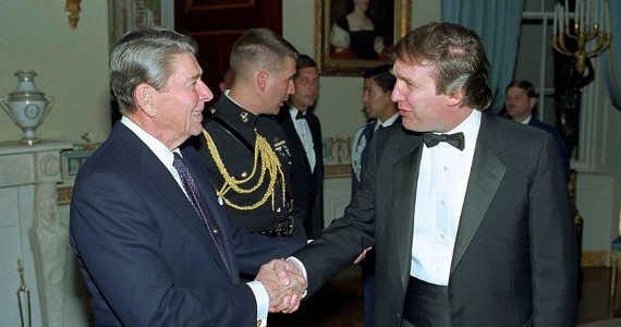 Donald Trump a Ronald Reagan